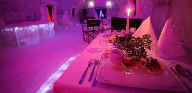 Balea Lake Ice Hotel, Roumanie5